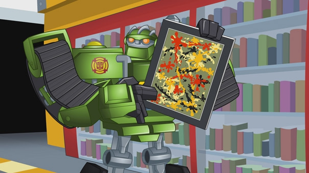 Transformers rescue Bots, Boulder