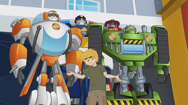 Transformer Rescue Bots Cody