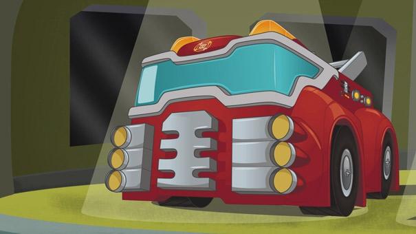 Transformer Rescue Bots, Heatwave
