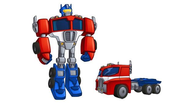 Transformer Rescue Bots, Optimus Prime