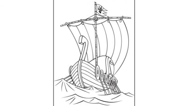 Le drakkar des Vikings