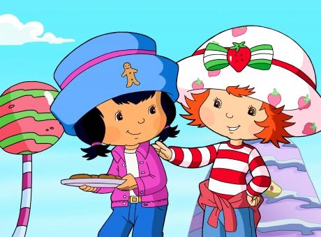 Charlotte aux Fraises et son amie Cookienelle
