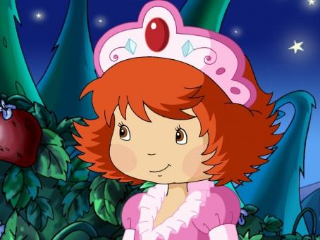 Charlotte aux Fraises déguisée en princesse