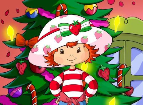 Charlotte aux Fraises prépare Noël