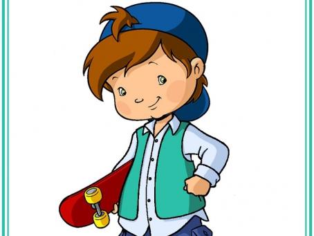 Coco Berry avec son skateboard