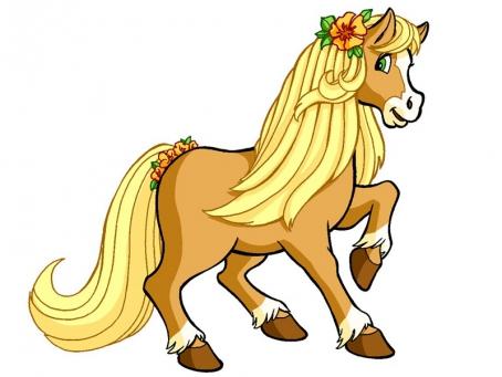 Caramiel le poney de Charlotte aux Fraises
