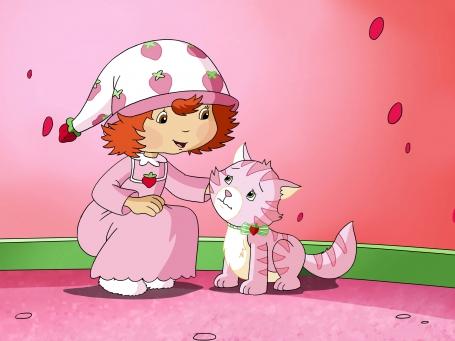 Pralinette le petit chat de Charlotte aux Fraises