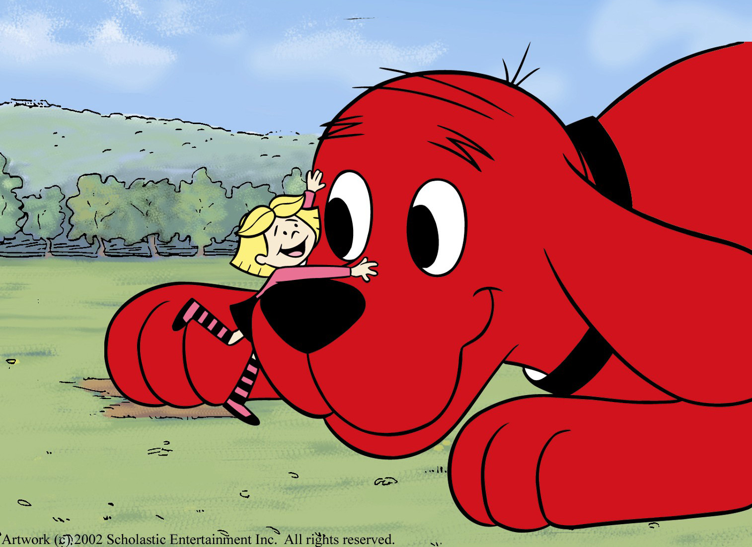 Clifford The Big Red Dog Movie Images