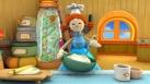 Annie fait la cuisine pour ses amis