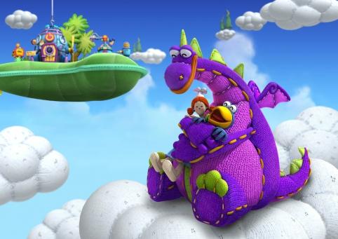 Dibo, Annie et Cro sont dans les nuages