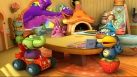 Dibo, Cro, Bunny, Elo et Annie sont réunis autour d'une table
