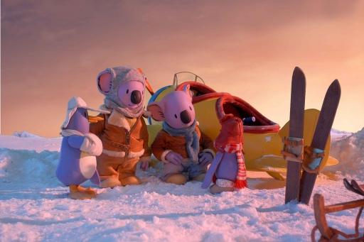Les Frères Koalas sont allés chercher leurs amis pour célébrer Noël