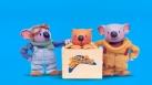 Les Frères Koalas en compagnie de Ned