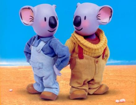 Franck et Buster les Frères Koalas