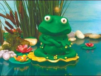 Reinette, la grenouille pose ses devinettes