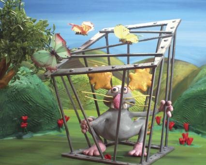 Un lapin dans une cage selon les devinettes de Reinette