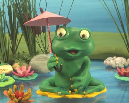Reinette sous son ombrelle
