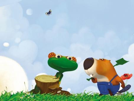 Brico et Lulu vont jardiner