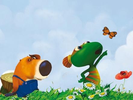 Brico, Lulu et le papillon