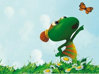 Lulu Vroumette et le papillon