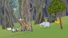 Toutes les créatures grandes et petites, il faut savoir apprécier les différences et la diversité. Les amis partent jouer dans la savane