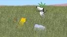 En jouant dans la savane, Max, Bo et Karla vont découvrir des empreintes géantes d'un animal d'un autre temps