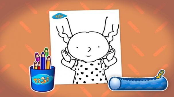 Bonus dessins manon h ros tiji - Coloriage manon ...