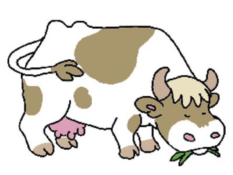 Animaux manon h ros tiji - Vache en dessin ...
