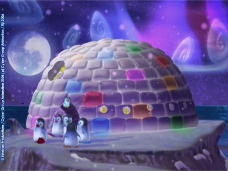 L'igloo des Ozie Boo est terminé