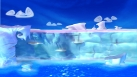 La falaise plonge dans la mer