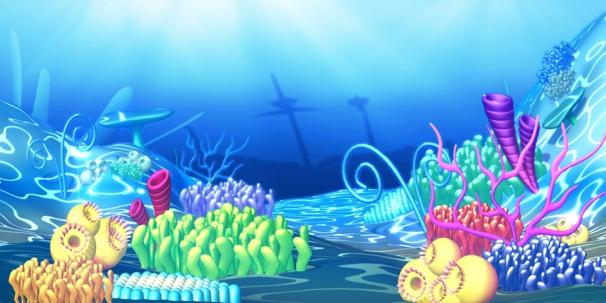 Sous la banquise, la vie sous marine