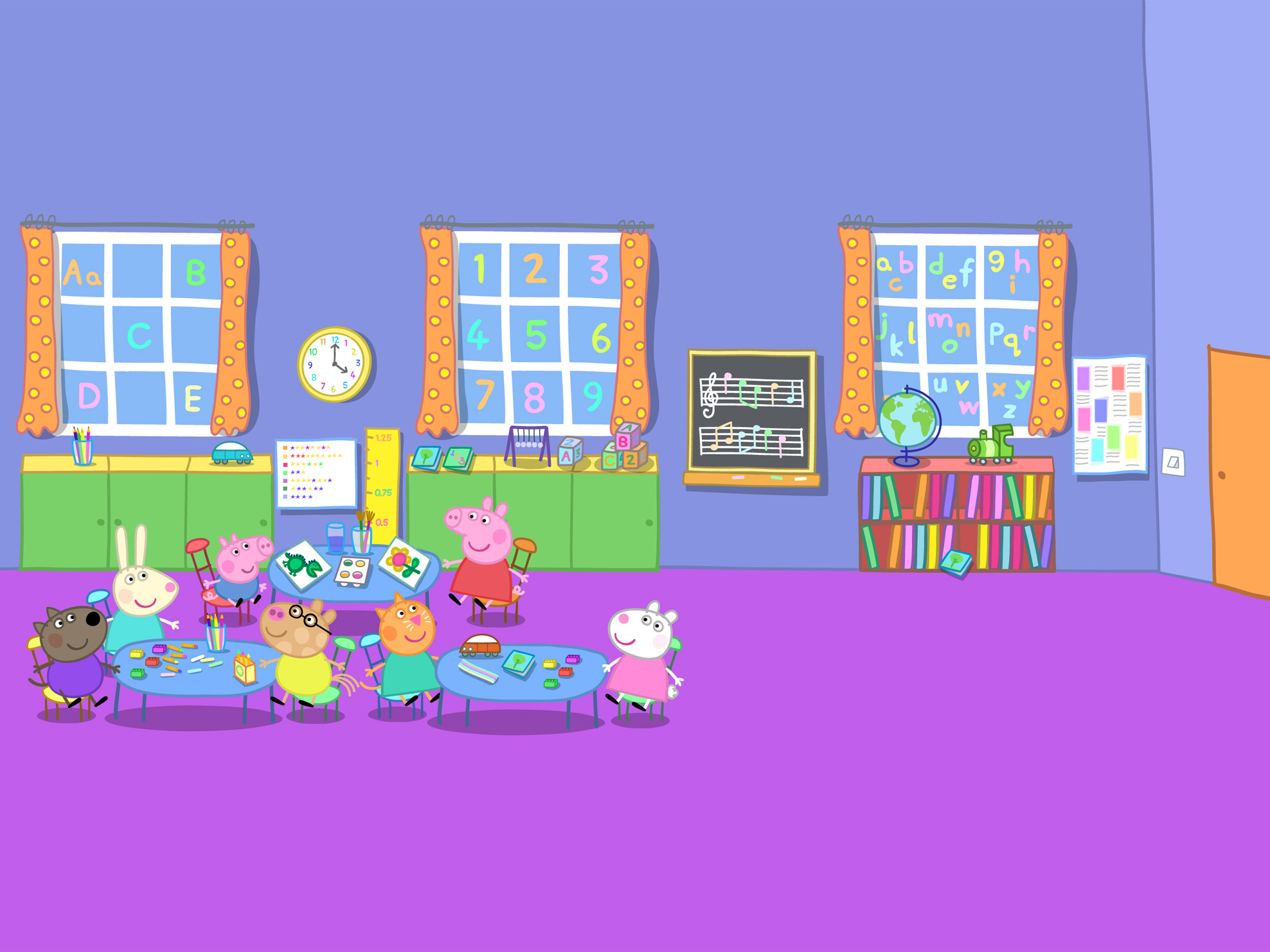 Related Pictures peppa pig family free vector