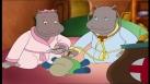 Petit Potam et Tessie jouent au médecin en pyjamas
