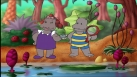 Petit Potam et Tessie jouent aux explorateurs