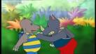 Petit Potam en train de se disputer avec un ami