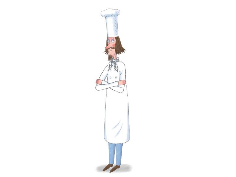 Images petite princesse h ros tiji for Cuisinier bras