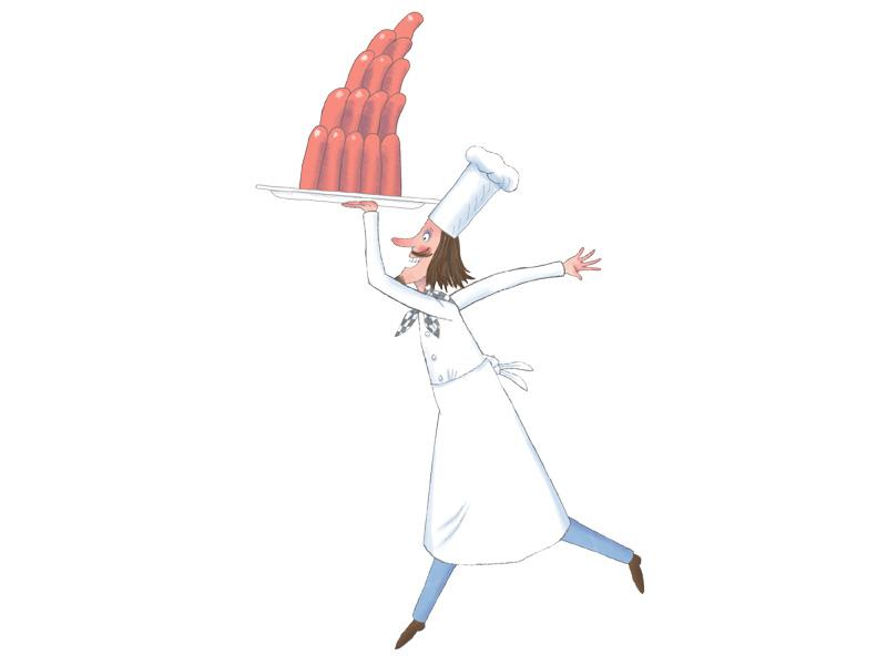 Personnages petite princesse h ros tiji for Cuisinier bateau