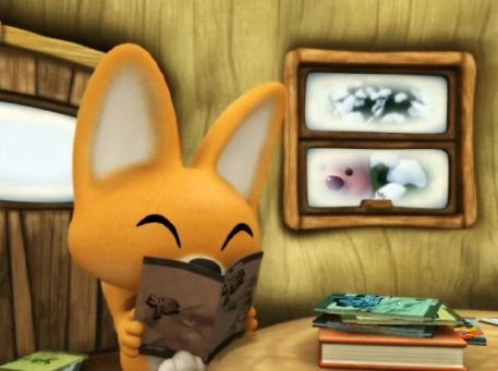 Eddy en pleine lecture