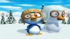 Pororo a fait un bonhomme de neige à son image