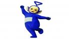 Tinky Winky saute de joie!