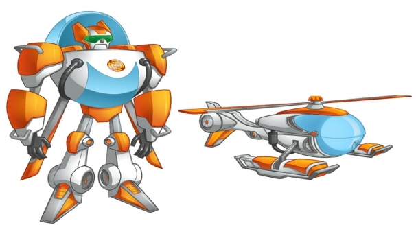 how to draw rescue bots