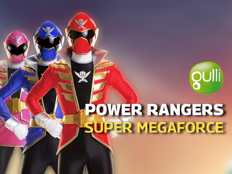 Revoir power rangers super megaforce en replay