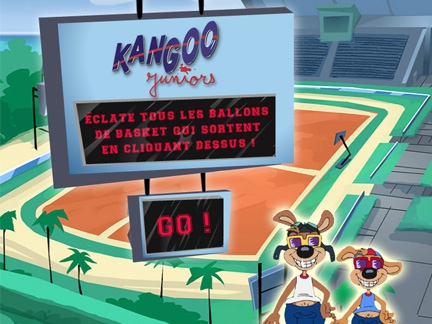Les jeux en flash Kangoo Juniors