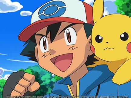 Sacha Et Pikachu Sacha Et Pikachu Images Pokémon