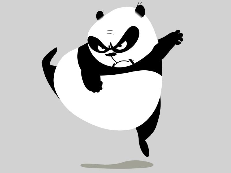 Le Panda Les Personnages Images Skunk Fu Dessins