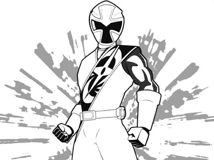 Les Ninjas Steel Coloriages Goodies Power Rangers