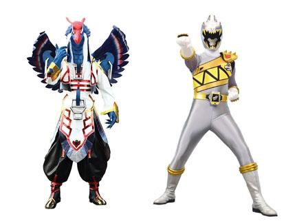 Zenowing Le Ranger Argent Dino Super Charge