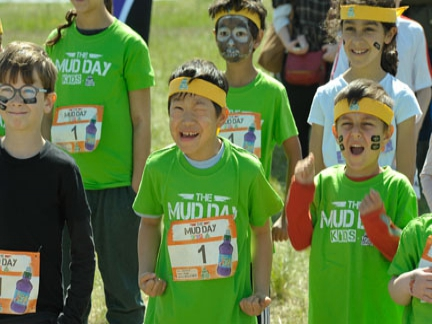 The Mud Day Kids by Fruit Shoot