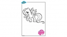Coloriage My Little Pony - Fluttershy