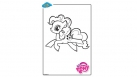 Coloriage My Little Pony - Pinkie Pie